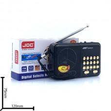 Портативная FM колонка JOC H-330SUR